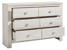 Load image into Gallery viewer, Paxberry Dresser- Whitewash