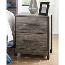 Load image into Gallery viewer, Cazenfeld Two Drawer Night Stand
