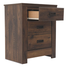 Load image into Gallery viewer, Quinden Two Drawer Night Stand