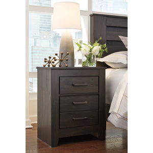 Brinxton Two Drawer Night Stand