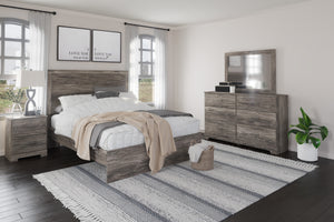 Ralinksi 6Pc Queen Panel Bedroom Set - Gray