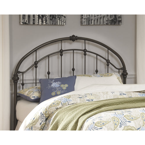 Nashburg  Queen Metal Headboard