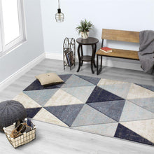 Load image into Gallery viewer, Freemont Distressed Triangles Rug