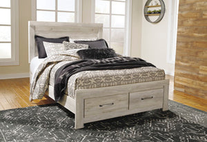 Bellaby Storage Footboard Bed