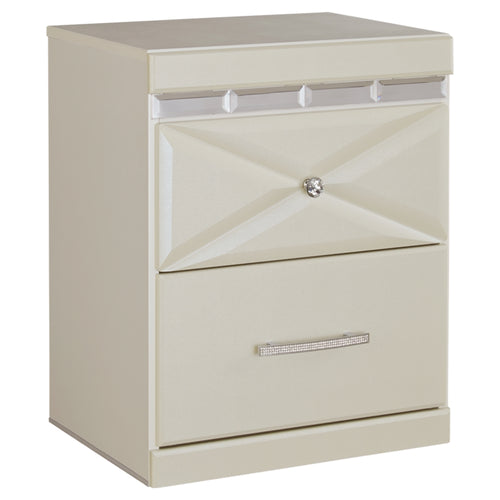 Dreamur Two Drawer Night Stand