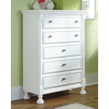 Load image into Gallery viewer, Kaslyn Five Drawer Chest