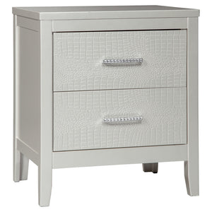 Olivet Two Drawer Night Stand