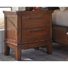 Load image into Gallery viewer, Ralene Two Drawer Night Stand