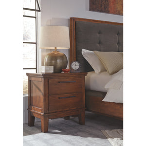 Ralene Two Drawer Night Stand