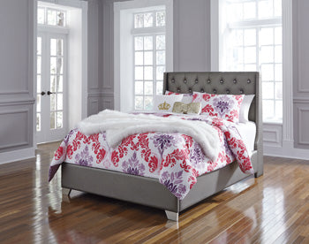 Coralayne Full UPH Panel Bed