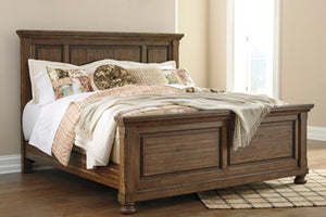 Flynnter Panel Bed