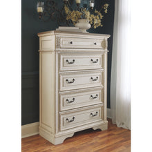 Load image into Gallery viewer, Realyn Five Drawer Chest