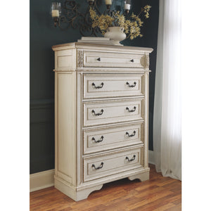 Realyn Five Drawer Chest