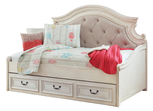 Realyn Twin Day Bed with Drawer Storage
