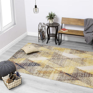 Sara Diamond Pattern Rug