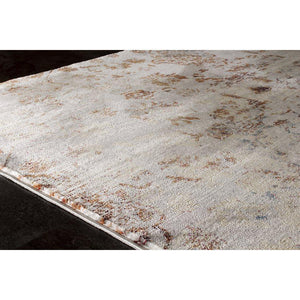 Sidra Warm Distressed Jewel Rug