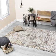 Load image into Gallery viewer, Sidra Warm Distressed Jewel Rug