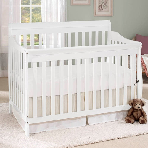 Shara 4-in-1 Crib - White