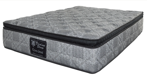 Crown Jewel Pocket Coil Mattress - Twin/Single Size