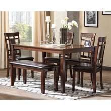 Load image into Gallery viewer, Bennox Dining Room Table,Chair abd Bench Set (6/CN)