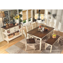 Load image into Gallery viewer, Whitesburg Rectangular Dining Room Table
