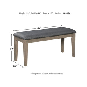 Aldwin Upholstered Bench