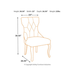 Coralayne Dining UPH Side Chair