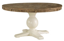 Load image into Gallery viewer, Grindleburg Round Dining Room Table Top & Base