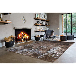 Antika Acid Wash Floor Cloth Rug