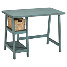 Load image into Gallery viewer, Mirimyn Home Office Small Desk - Antiqued Blue