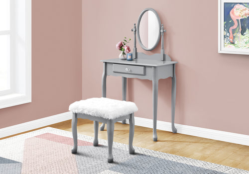 I 3182 VANITY SET - 2PCS SET / GREY