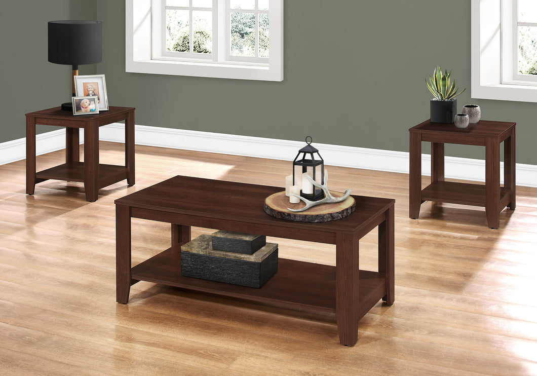 I 7993P TABLE SET - 3PCS SET / CHERRY
