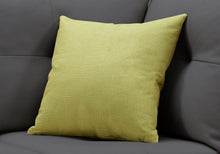 "Load image into Gallery viewer, I 9292 PILLOW - 18""X 18"" / PATTERNED LIME GREEN / 1PC"
