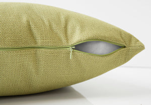 "I 9292 PILLOW - 18""X 18"" / PATTERNED LIME GREEN / 1PC"