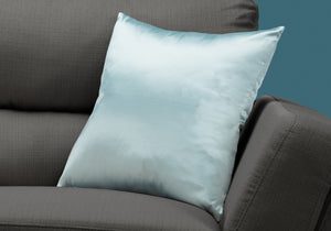 "I 9340 PILLOW - 18""X 18"" / MINT SATIN / 1PC"