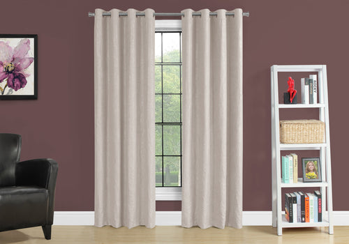 I 9818 CURTAIN PANEL - 2PCS / 52