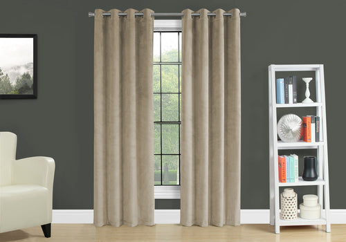 I 9821 CURTAIN PANEL - 2PCS / 52