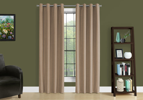 I 9839 CURTAIN PANEL - 2PCS / 52