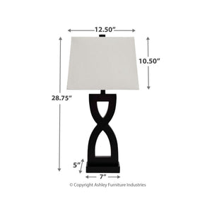 Amasai Poly Table Lamp (2/CN)