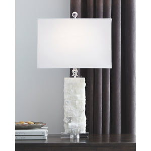 Malise Alabaster Table Lamp (1/CN)