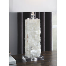 Load image into Gallery viewer, Malise Alabaster Table Lamp (1/CN)