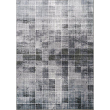 Load image into Gallery viewer, Antika Distressed Squares Rug