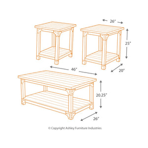 Murphy Occasional Table Set (3/CN)