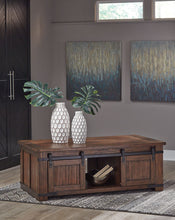 Load image into Gallery viewer, Budmore Rectangular Cocktail Table - Brown