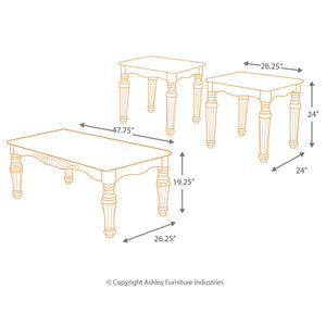 North Shore Occasional Table Set (3/CN)