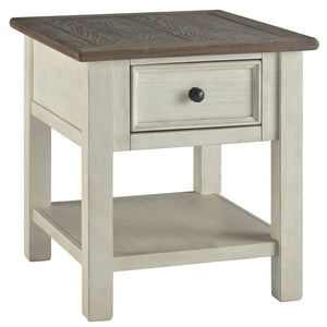 Bolanburg End Table - Two-tone