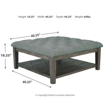 Load image into Gallery viewer, Borlofield Ottoman Cocktail Table