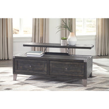 Load image into Gallery viewer, Todoe Lift Top Cocktail Table - Dark Gray
