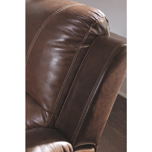 Rackingburg Leather Reclining Sofa
