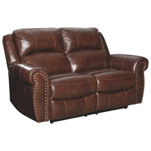 Load image into Gallery viewer, Bingen Leather Reclining Loveseat